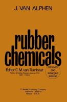 Cover image for Rubber chemicals