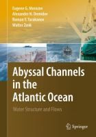Cover image for Abyssal channels in the Atlantic Ocean : water structure and flows