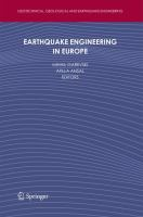 Cover image for Earthquake engineering in Europe
