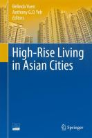 Cover image for High-rise living in Asian cities