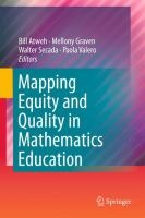 Cover image for Mapping equity and quality in mathematics education