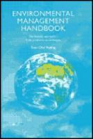 Cover image for Environmental management handbook