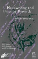Cover image for Handwriting and drawing research : basic and applied issues