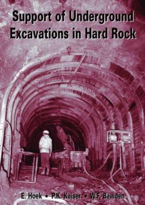 Cover image for Support of underground excavations in hard rock