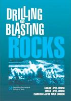 Cover image for Drilling and blasting of rocks