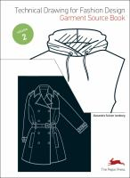 Cover image for Technical drawing for fashion design garment source CD