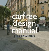 Cover image for Carfree design manual