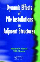 Cover image for Dynamic effects of pile installations on adjacent structures
