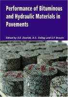 Cover image for Performance of bituminous and hydraulic materials in pavements : proceedings of the Fourth European Symposium on Performance of Bituminous and Hydraulic Materials in Pavements, Bitmat 4, Nottingham, United Kingdom, 11-12 April 2002
