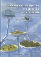 Cover image for Modelling nutrient digestion and utilisation in farm animals