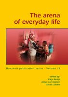 Cover image for The arena of everyday life
