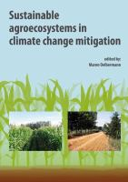 Cover image for Sustainable agroecosystems in climate change mitigation