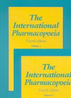 Cover image for The International pharmacopoeia