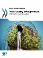 Cover image for Water quality and agriculture : meeting the policy challenge