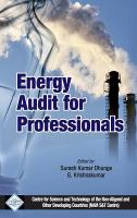 Cover image for Energy audit for professionals
