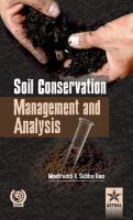 Cover image for Soil conservation, management and analysis