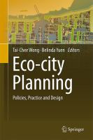 Cover image for Eco-city planning : policies, practice and design