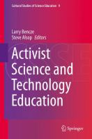 Cover image for Activist science and technology education