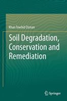 Cover image for Soil Degradation, Conservation and Remediation