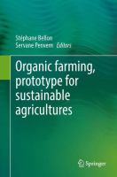 Cover image for Organic farming, prototype for sustainable agricultures