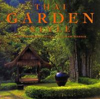 Cover image for Thai garden style