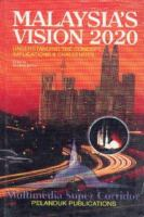 Cover image for Malaysia's vision 2020 : understanding the concept, implications and challenges