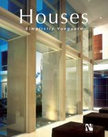 Cover image for Houses : simplicity vanguard