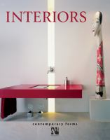Cover image for Interiors: contemporary forms