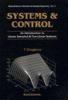 Cover image for Systems and control : an introduction to linear, sampled and non-linear systems