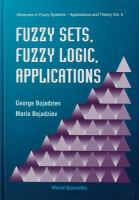 Cover image for Fuzzy sets, fuzzy logic, applications
