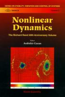 Cover image for Nonlinear dynamics :  the Richard Rand 50th anniversary volume