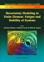 Cover image for Uncertainty modeling in finite element, fatigue and stability of systems