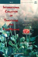 Cover image for International collation of traditional and folk medicine