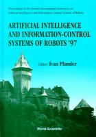 Cover image for Artificial intelligence and information-control systems of robots `97