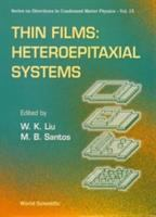 Cover image for Thin films :  heteroepitaxial systems