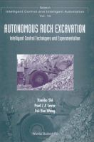 Cover image for Autonomous rock excavation : intelligent control techniques and experimentation