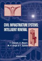 Cover image for Civil infrastructure systems : intelligent renewal