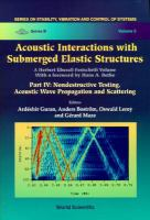 Cover image for Acoustic interactions with submerged elastic structures