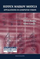 Cover image for Hidden Markov models : applications in computer vision