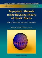Cover image for Asymptotic methods in the buckling theory of elastic shells