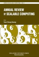 Cover image for Annual review of scalable computing