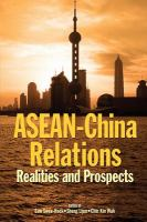 Cover image for ASEAN-China relations : realities and prospects