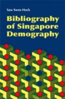 Cover image for Bibliography of Singapore demography