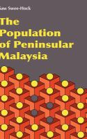 Cover image for The population of Peninsular Malaysia