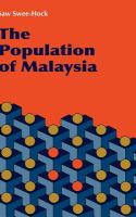 Cover image for The population of Malaysia