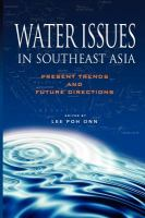 Cover image for Water issues in Southeast Asia : present trends and future directions