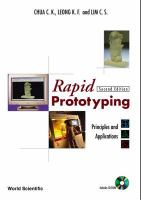 Cover image for Rapid prototyping : principles and applications