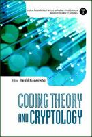 Cover image for Coding theory and cryptology