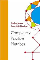 Cover image for Completely positive matrices