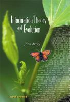 Cover image for Information theory and evolution
